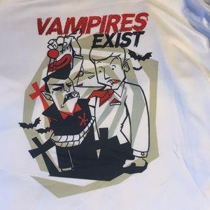 Tops - Vampires Exist T-shirt tee